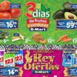 Ofertas SMart frutas y verduras del 20 al 22 de julio 2021