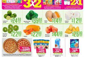 Soriana: frutas y verduras fin semana del 16 al 19 de julio 2021