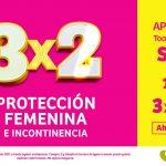 Julio Regalado 2021: 3×2 en protección femenina e incontinencia