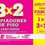 Julio Regalado 2021: 3×2 en limpiadores y jarciería