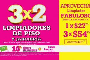 Soriana Julio Regalado 2021: 3×2 en limpiadores y jarciería