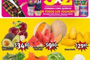 Folleto Soriana Mercado frutas y verduras 27 al 29 de julio 2021