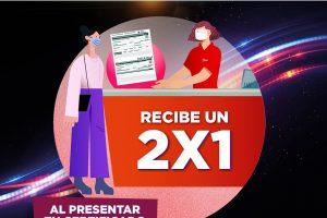 Cinemex: 2×1 en boletos con certificado de Vacunación COVID-19