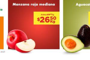 Ofertas Chedraui frutas y verduras 17 y 28 de agosto 2021