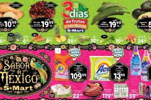 Ofertas SMart frutas y verduras del 31 de agosto al 2 de septiembre 2021
