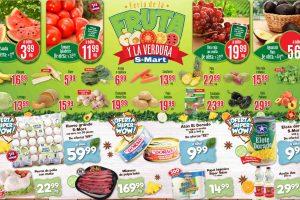 Ofertas SMart frutas y verduras del 17 al 19 de agosto 2021