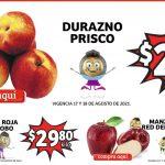 Ofertas Soriana Mercado frutas y verduras 17 al 19 de agosto 2021