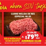 Ofertas Soriana Carnes de Cada Día 18 al 24 de agosto 2021