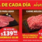 Ofertas Soriana en Carnes del 6 al 9 de agosto 2021