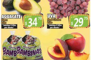 Ofertas Casa Ley frutas y verduras 14 y 15 de septiembre 2021