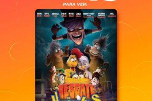 Cinépolis: Película un Rescate de Huevitos 3 entradas por $45