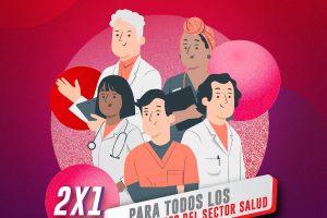 Promoción Cinemex 2×1 para todos los trabajadores del sector Salud