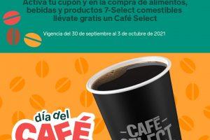 Cupón 7-Eleven Café Select GRATIS Día del Café 2021