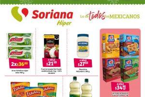 Folleto Soriana Ofertas Mes Mexicano 20 al 29 de septiembre 2021