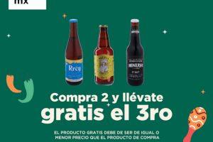 HEB: 3×2 en cervezas artesanales Fiestas Patrias 2021