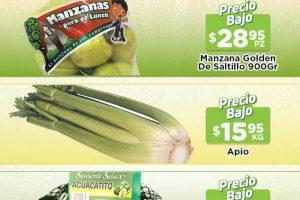 Ofertas HEB frutas y verduras del 28 de septiembre al 4 de octubre 2021