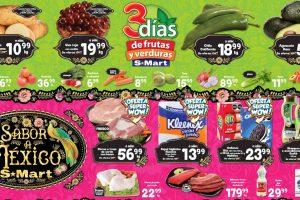 Ofertas SMart frutas y verduras del 14 al 16 de septiembre 2021