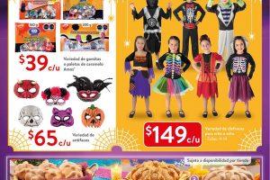 Folleto Walmart Halloween del 15 de octubre al 7 de noviembre 2021