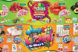 Ofertas SMart frutas y verduras del 5 al 7 de octubre 2021