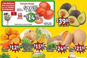 Folleto Soriana Mercado frutas y verduras 5 y 6 de octubre 2021