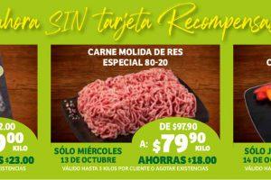Ofertas Soriana Carnes de Cada Día del 13 al 19 de octubre 2021